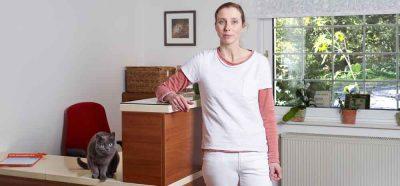 Empfang in der Tierarztpraxis Fernholte